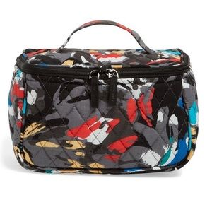 Vera Bradley Travel Cosmetic Bag in Splash Floral